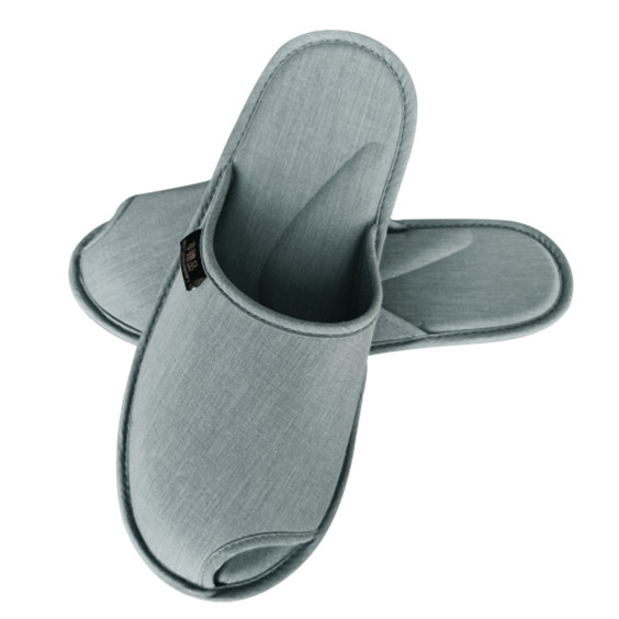 环保拖鞋速干包头款-浅灰