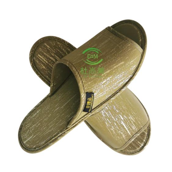 环保拖鞋——土豪金版-金色开口